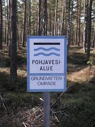 Pohjavesialueet